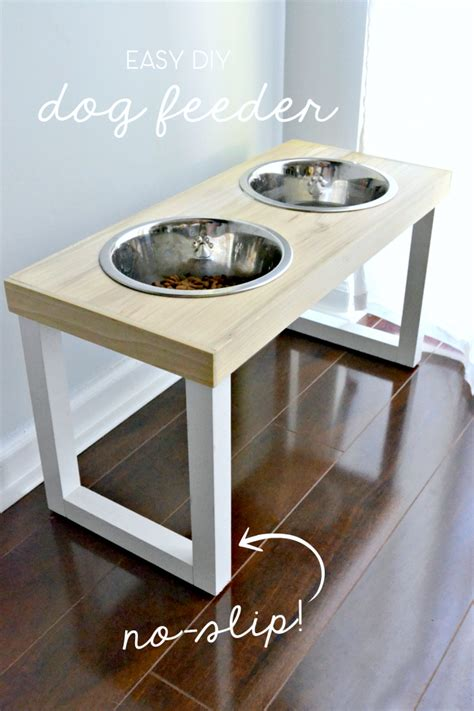 dish stand diy no slip feeder the duckling house
