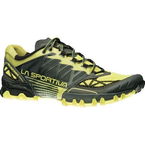 hiking trail running shoes la sportiva bushido trail running shoe s