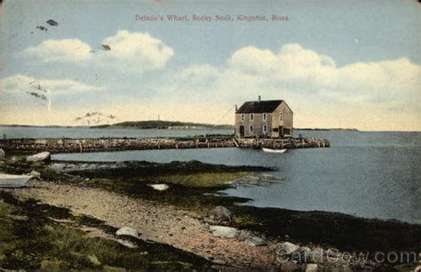 Nook E Gift Card - delano s wharf rocky nook kingston ma postcard