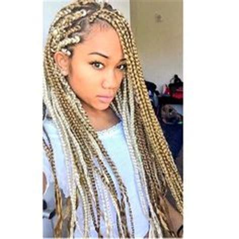 pink black n blonda braids 1000 images about braided up on pinterest box braids