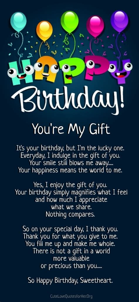 Happy Birthday Poems From by 12 Happy Birthday Poems For Him With Images