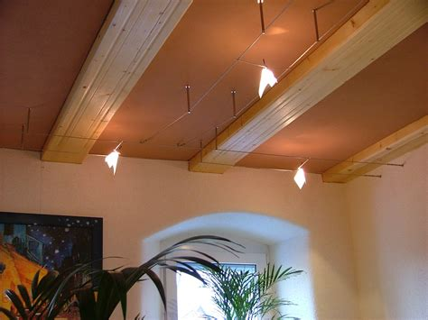 Beleuchtung Seilsystem by Beleuchtung Am Balken