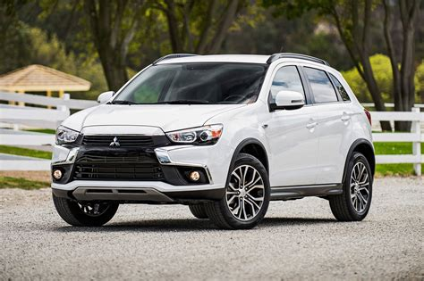 mitsubishi asx mitsubishi facelifts asx and mirage for 2016 by car magazine