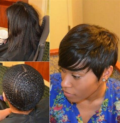 short weave hairstyles with closure 1000 images about ideas for sew in or quick weaves on