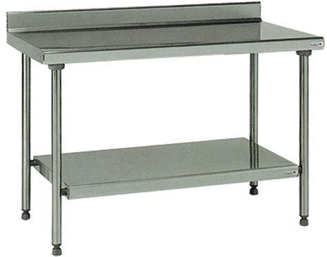 etagere coop table inox dosseret etagere 700 x1600 mm coop labo