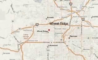 wheat ridge colorado map wheat ridge location guide