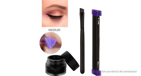 Eyeliner Kit 3 In 1 eye102 3 in 1 eye wing eyeliner st brush tool kit