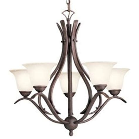 Over Dining Room Table Portfolio 5 Light Tannery Bronze Dining Room Chandeliers Lowes
