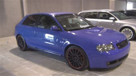 Audi A3 Getunt by Audi A3 Tuned S3 1999 Exterior And Interior In 3d