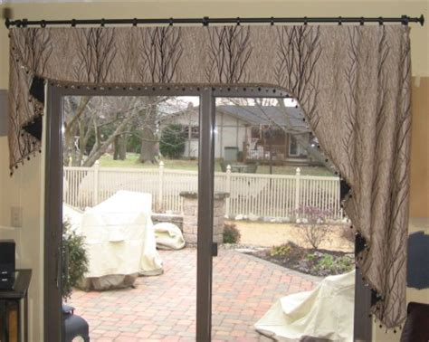 Sliding Glass Door Valance Valance Curtains For Sliding Glass Doors Decorate The House With Beautiful Curtains