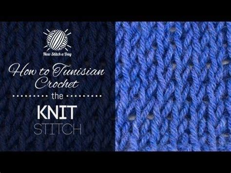 how to knit left handed for beginners how to tunisian crochet the knit stitch tunisian crochet