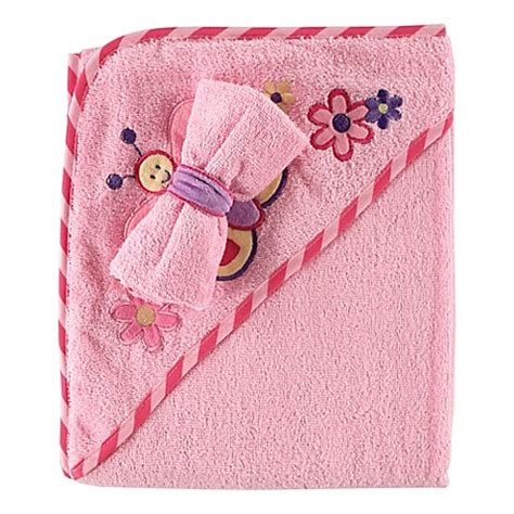 Palmerhaus Baby Towel Pink babyvision 174 luvable friends 174 hooded towel and washcloth set in pink bed bath beyond