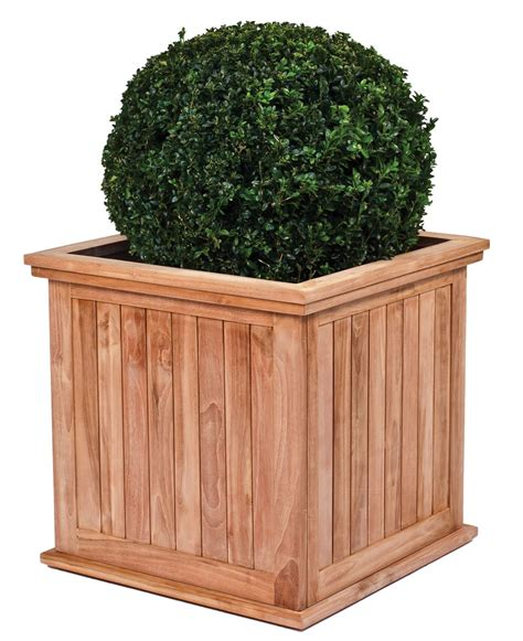 Teak Planters by Teak Garden Planter The Kalimantan