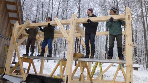 energy star home timber frame barn  tiny house