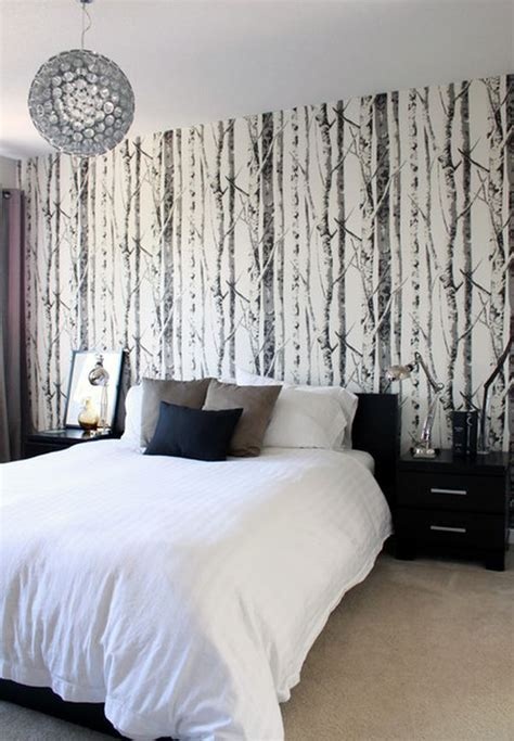 black pattern wallpaper bedroom 15 bedroom wallpaper ideas styles patterns and colors