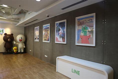 bureau line office แอบด สำน กงาน line ประจำประเทศไทยบรรยากาศน าร กส ด ๆ