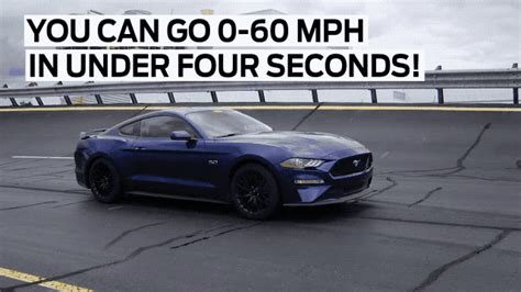 2011 mustang gt 0 60 ford s 2018 mustang gt can do 0 to 60 mph in 4