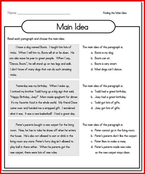 Third Grade Language Arts Worksheets by Ideas About Language Arts Worksheets 3rd Grade Easy