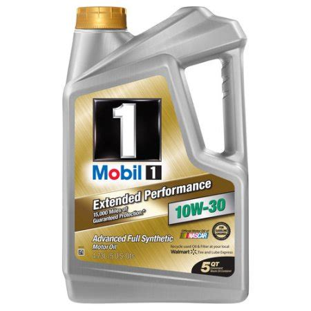 Exxonmobil Gift Card Check - mobil 1 10w 30 extended performance full synthetic motor oil 5 qt