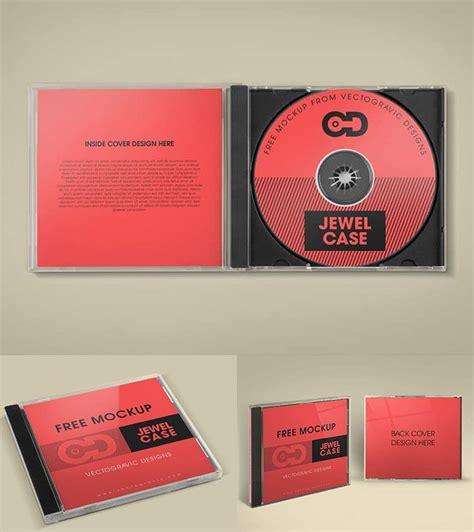 design cover cd psd free cd jewel case mockup mockups psd templates for