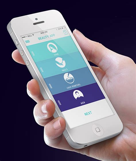 application design gallery modern mobile app ui designs with uux inspiration