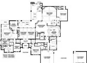 One Story Floor Plans With Two Master Suites Luxury Home Designs Fascinating First Floor Luxury House