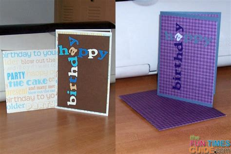 make an birthday card diy birthday cards for children how to make