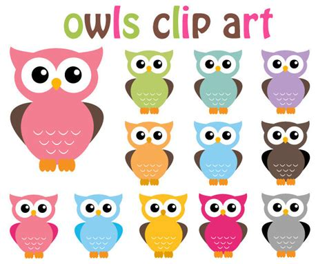 printable owl graphics owl clipart 12 sweet owls clip art graphics by