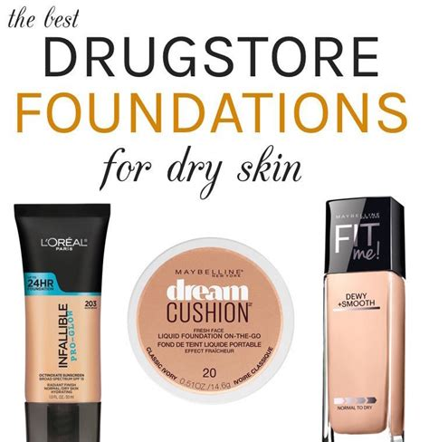 best light coverage drugstore foundation the best drugstore foundations for dry skin all under 12