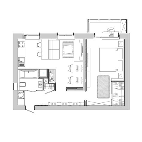 Tiny Apartment Floor Plans by Apartment Designs For A Small Family And A