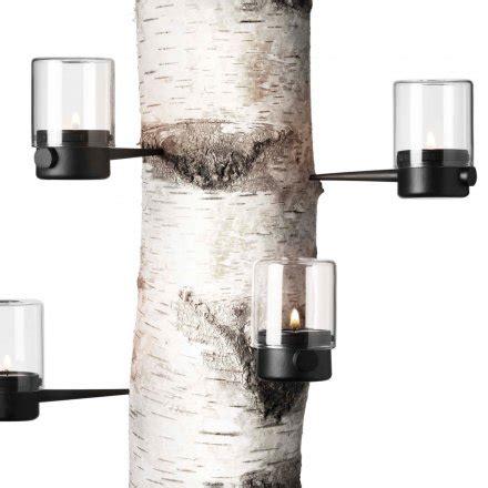 Kerzenhalter Zum Einschlagen by Menu Teelichthalter Pipe Hurricane 4er Set Horizontal