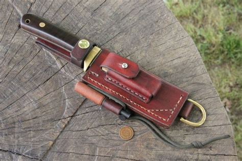 handmade knife sheaths trekker sheath lucas forge