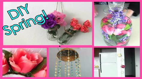 decorations diy spring room decorations decor for your diy room organization spring cleaning decor youtube