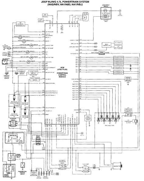 2001 jeep grand radio wiring diagram to 4 7 2006