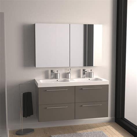 Attrayant Meuble Tete De Lit Rangement #4: Mobilier-maison-meuble-haut-salle-de-bain-taupe-9.jpg