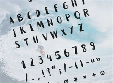 Font Handmade - picked freebies for web designers designhooks