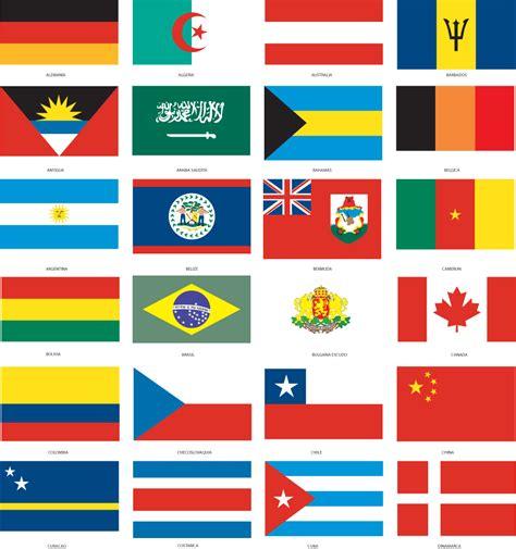 imagenes de banderas de paises banderas de paises ni 241 os pinterest