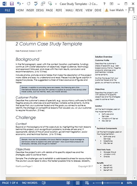 10 simple case study writing tips
