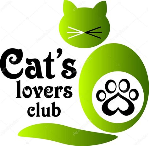 Kaos Fangkeh Lover Cat V Ii logo for cat s club stock vector 169 vzphoto 77136593