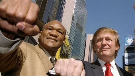 Trump President by George Foreman Has Some Fighting Words For President Trump