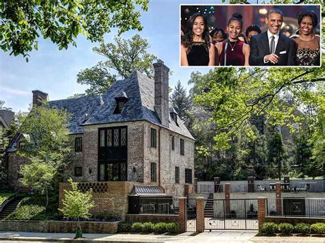 Barack Obama House by The Obama Family Will Live In D C Mansion After