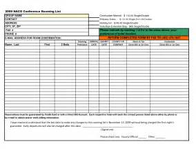 best photos of hotel rooming list forms hotel room list