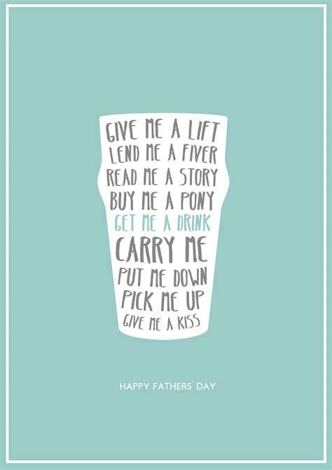 printable poster here s one i made earlier instant fathers day card