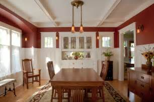 Craftsman Dining Room Dining Room Restored Craftsman Dining Room Seattle By Tim Andersen Architect