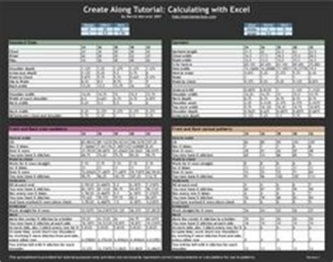 knitting pattern grading 1000 images about knitting sizing fitting on pinterest