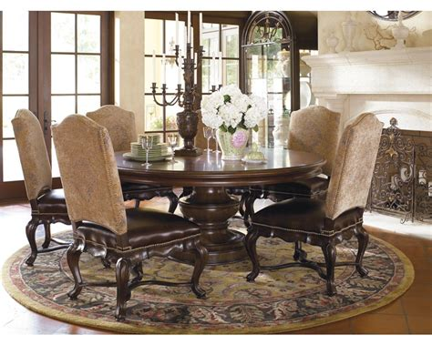 thomasville dining room tables elba round dining table thomasville furniture