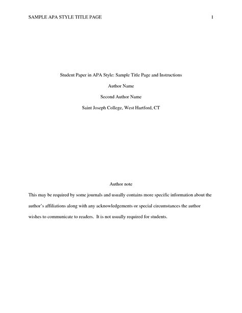 title pages for research papers research article critique title page