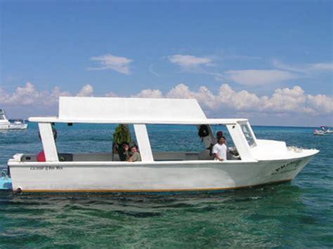 glass bottom boat cancun fondo de cristal