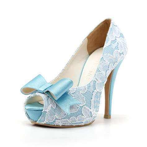 light blue high heel shoes light blue wedding shoes with high heel ipunya