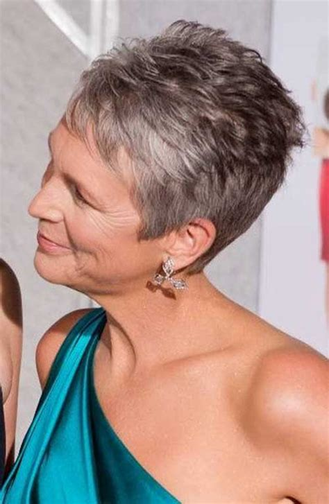 back veiw of jamie lee curtis hair styles jamie lee curtis haircut back view short hairstyle 2013